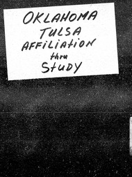 Oklahoma YWCA of the U.S.A. records, Record Group 11. Microfilmed central files