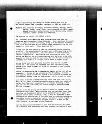 Pacific Coast Field Committee minutes and reports YWCA of the U.S.A. records, Record Group 11. Microfilmed headquarters files