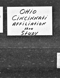 Ohio YWCA of the U.S.A. records, Record Group 11. Microfilmed central files