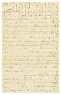 Letter from Martha Thayer to Elizabeth Crocker Lawrence
