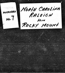 North Carolina YWCA of the U.S.A. records, Record Group 11. Microfilmed headquarters files