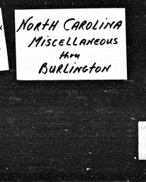 North Carolina YWCA of the U.S.A. records, Record Group 11. Microfilmed central files