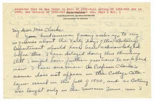 Letter from Helen A. Choate to Elizabeth Crocker Lawrence
