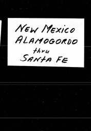 New Mexico YWCA of the U.S.A. records, Record Group 11. Microfilmed central files