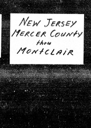 New Jersey YWCA of the U.S.A. records, Record Group 11. Microfilmed headquarters files