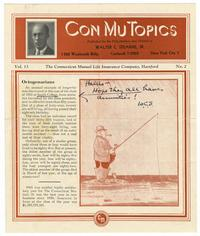 Con Mu Topics, Volume 13, Number 2