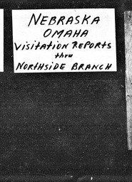Nebraska YWCA of the U.S.A. records, Record Group 11. Microfilmed central files