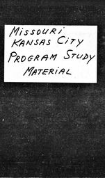 Missouri YWCA of the U.S.A. records, Record Group 11. Microfilmed headquarters files