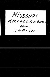 Missouri YWCA of the U.S.A. records, Record Group 11. Microfilmed central files