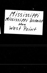 Mississippi YWCA of the U.S.A. records, Record Group 11. Microfilmed headquarters files