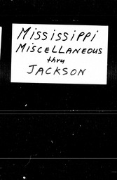 Mississippi YWCA of the U.S.A. records, Record Group 11. Microfilmed central files