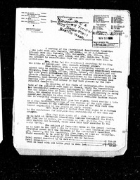 North Western Field Committee minutes and reports YWCA of the U.S.A. records, Record Group 11. Microfilmed central files