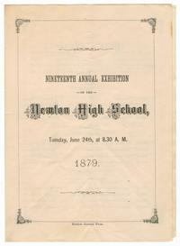 Program for the Nineteenth Annual Exhibition of the Newton High School