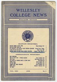 Wellesley College News