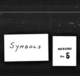 Symbols and teenage YWCA of the U.S.A. records, Record Group 11. Microfilmed central files