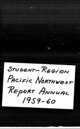 Student Pacific Northwest region YWCA of the U.S.A. records, Record Group 11. Microfilmed headquarters files