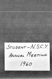 National Student Councils YMCA and YWCA YWCA of the U.S.A. records, Record Group 11. Microfilmed central files