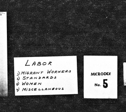 Labor YWCA of the U.S.A. records, Record Group 11. Microfilmed headquarters files