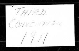 Conventions, third YWCA of the U.S.A. records, Record Group 11. Microfilmed headquarters files