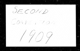 Conventions, second YWCA of the U.S.A. records, Record Group 11. Microfilmed central files
