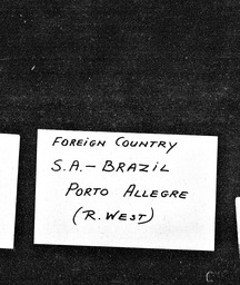 Brazil YWCA of the U.S.A. records, Record Group 11. Microfilmed headquarters files