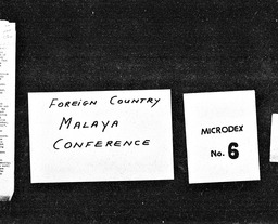Malaya YWCA of the U.S.A. records, Record Group 11. Microfilmed central files