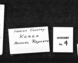 Korea YWCA of the U.S.A. records, Record Group 11. Microfilmed headquarters files