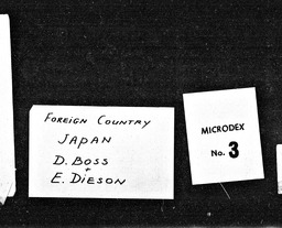Japan YWCA of the U.S.A. records, Record Group 11. Microfilmed headquarters files
