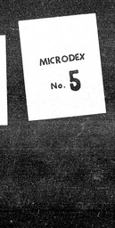 Arts YWCA of the U.S.A. records, Record Group 11. Microfilmed central files
