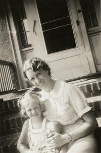 Sylvia Plath and her mother