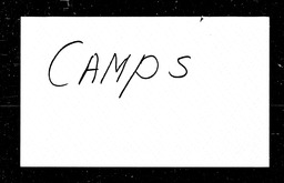 Camps YWCA of the U.S.A. records, Record Group 11. Microfilmed headquarters files