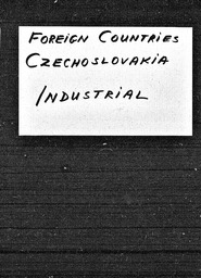 Czechoslovakia YWCA of the U.S.A. records, Record Group 11. Microfilmed central files