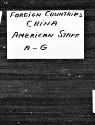 China YWCA of the U.S.A. records, Record Group 11. Microfilmed central files