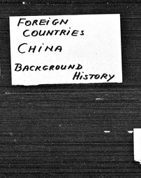 China YWCA of the U.S.A. records, Record Group 11. Microfilmed headquarters files