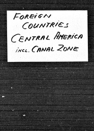 Central America YWCA of the U.S.A. records, Record Group 11. Microfilmed headquarters files