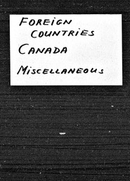 Canada YWCA of the U.S.A. records, Record Group 11. Microfilmed central files