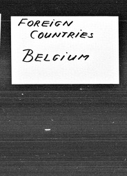 Belgium YWCA of the U.S.A. records, Record Group 11. Microfilmed central files