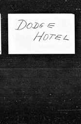 Dodge Hotel YWCA of the U.S.A. records, Record Group 11. Microfilmed central files