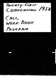 Conventions, twenty-first YWCA of the U.S.A. records, Record Group 11. Microfilmed headquarters files