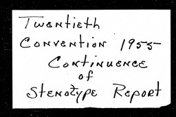 Conventions, twentieth YWCA of the U.S.A. records, Record Group 11. Microfilmed central files