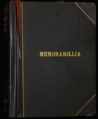 Memorabilia book of Marjory Gane