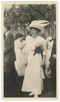 Photograph of Harris at Junior Prom