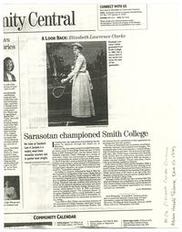 Sarasotan championed Smith College