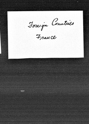 France YWCA of the U.S.A. records, Record Group 11. Microfilmed central files