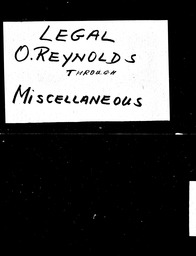 Legal YWCA of the U.S.A. records, Record Group 11. Microfilmed central files