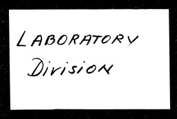 Laboratory Division YWCA of the U.S.A. records, Record Group 11. Microfilmed central files