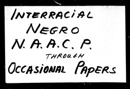 Interracial YWCA of the U.S.A. records, Record Group 11. Microfilmed central files