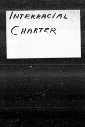 Interracial charter YWCA of the U.S.A. records, Record Group 11. Microfilmed central files