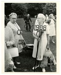 Mary Byers Smith (Class of 1908) at Smith College for her 65th reunion