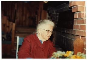 Hilda Edwards (Hamlin) (Class of 1912) on her 96th Birthday